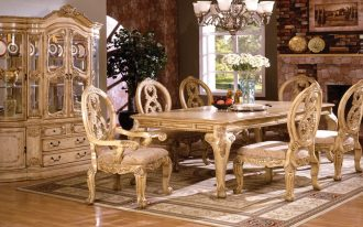 classy and oxford creek furniture with classic chairs and table and antique cup board and attractive rug