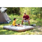 coleman-queen-airbed-in-5-inches-for-thickness-and-heavy-duty-PVC-construction-and-features-soft-suede-top-for-luxurious-comfort