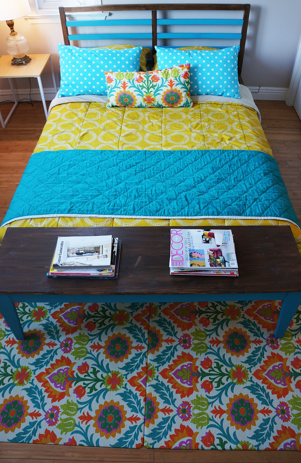 DIY Floor Rug Gives the Nuance of Dream Decoration - HomesFeed