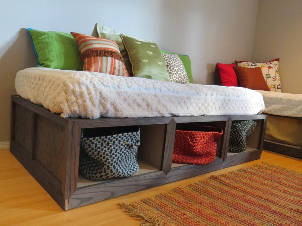 Daybeds with storage that provide both functional and Daybeds with storage