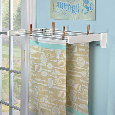 Useful Wall Mounted Drying Rack Homesfeed
