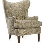 cool accent chairs with interesting pattern plus comfy high back wooden leg for awesome family room furniture ideas