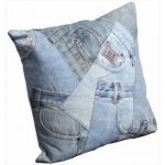 cool-and-casual-Mina-Victory-Denim-Pockets-16-inch-Throw-Pillow-knife-edge-with-cotton-and-polyester-also-dry-clean-only-adds a touch of panache, comfort and style