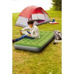 embark-twin-airbed-with-pump-in-green-color-for-indoor-and-outdoor-use-with-coil-beam-construction-and-flocked-sleeping-surface-and-deflated-quickly