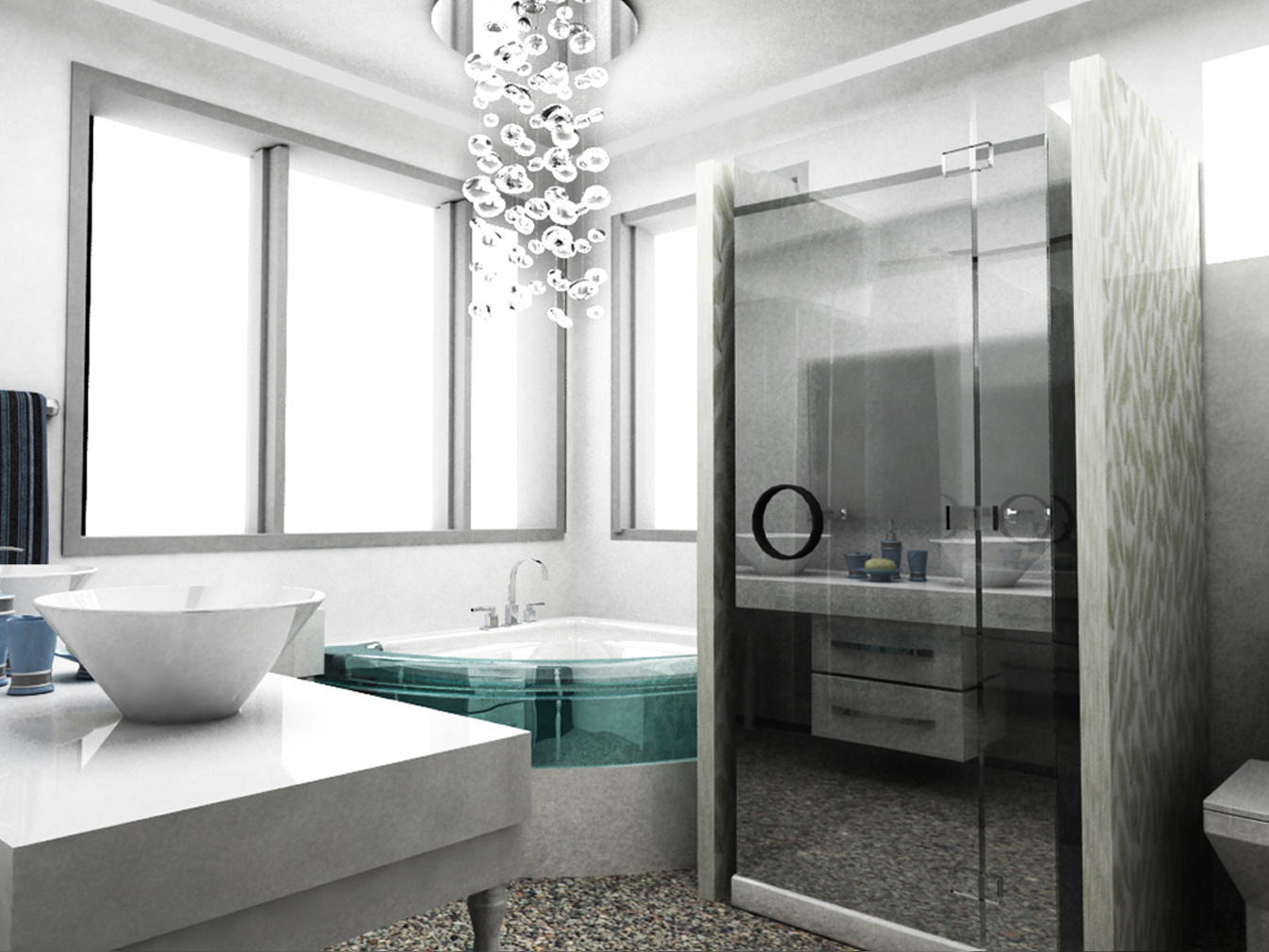 urban bathroom design for those with plenty of expectation
