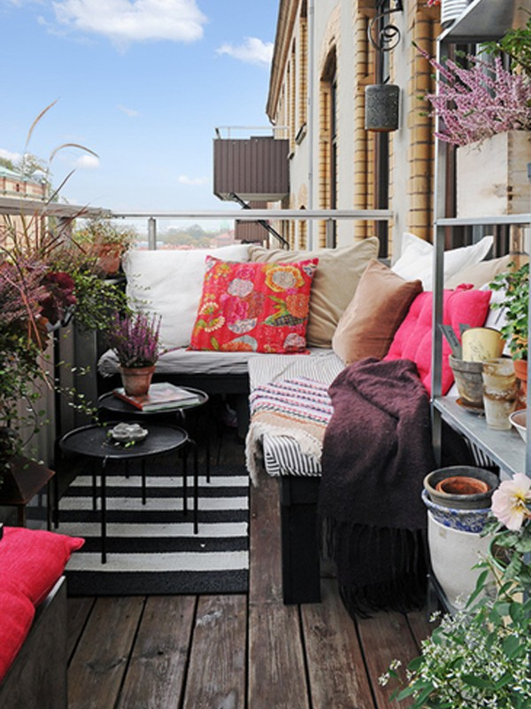 Apartment balcony furniture ideas you will be attracted to for The balcony apartments