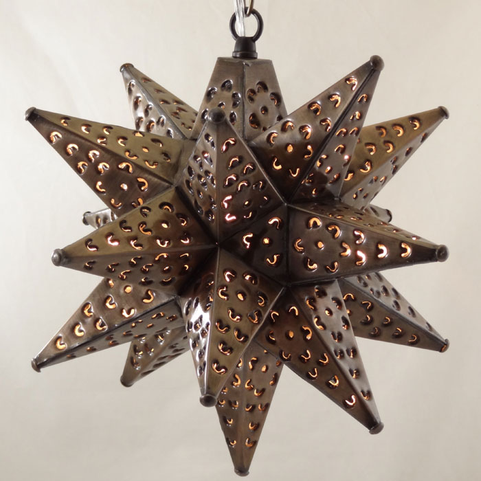 fascinating metal moravian star pendant light fixture for appealing. Black Bedroom Furniture Sets. Home Design Ideas
