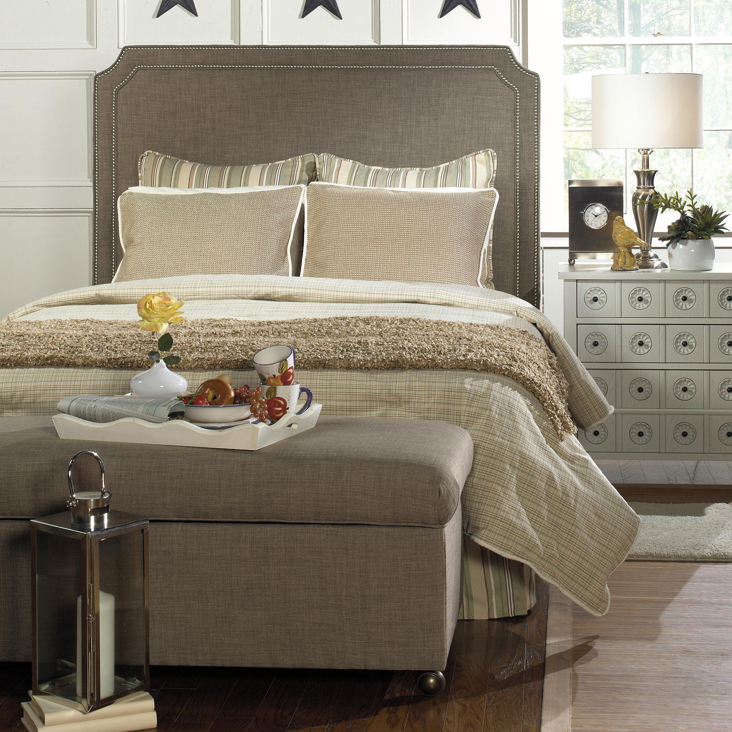 tutorial nailhead trim pages mirror watermarked together and with love sunburst upholstered the img headboard