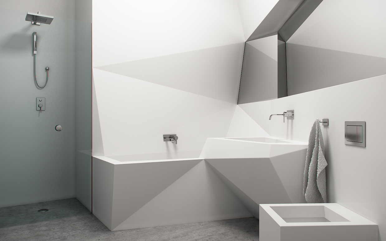 Urban Bathroom Design for Those with Plenty of Expectation | HomesFeed