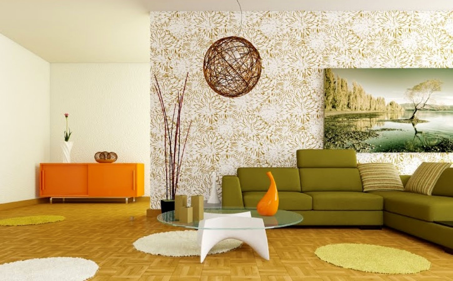 How To Add Green Accent In The Living Room Some Tips