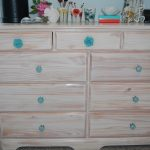 gorgeous ikea dresser vintage design with beige tone on the wooden material with turquoise knobs and wooden floor and small drawers