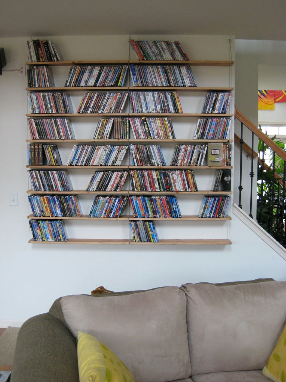 Unique Hanging Bookshelves Wall That Worth To Own Homesfeed Interiors Inside Ideas Interiors design about Everything [magnanprojects.com]