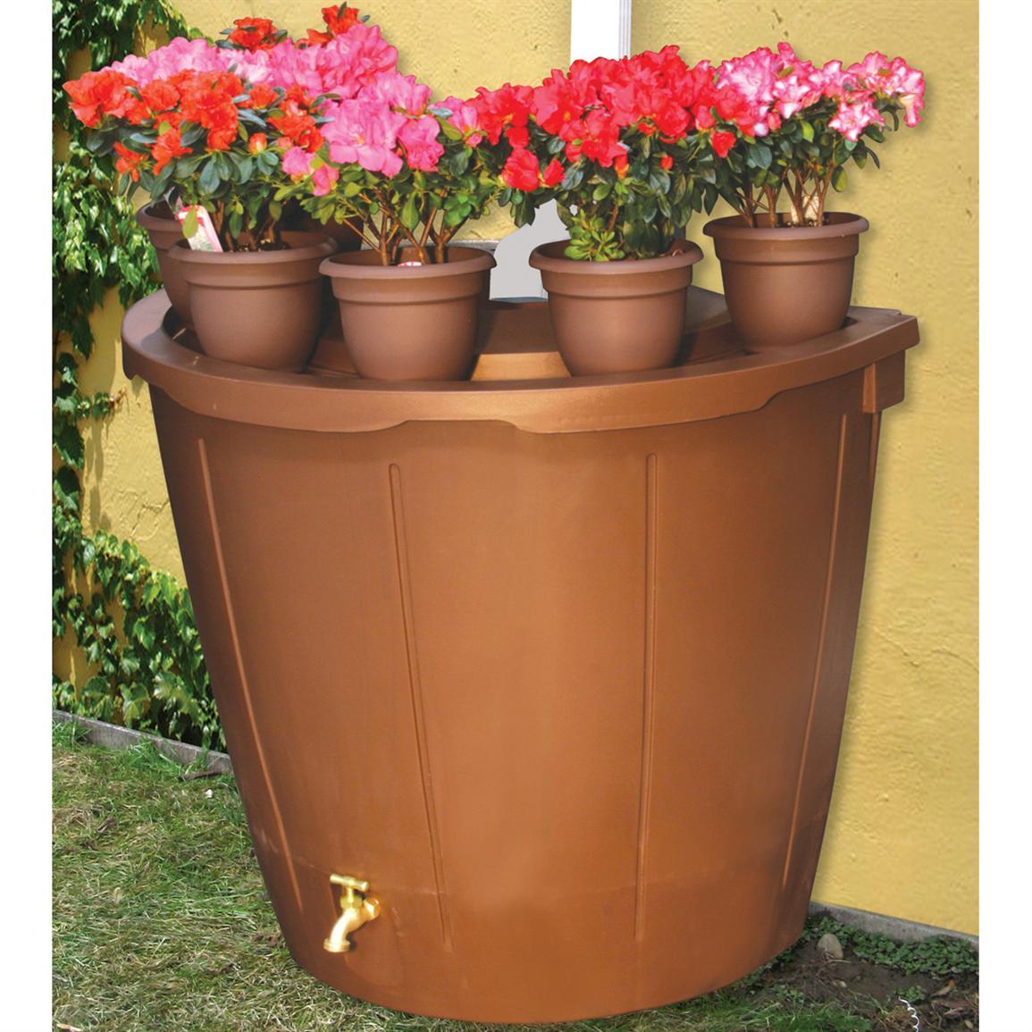 great looking of koolatron 50 gallon decorative rain - Decorative Rain Barrels