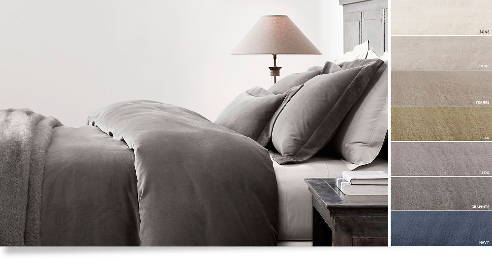 Restoration Hardware Linen Sheets Offering an Appealing and a ...