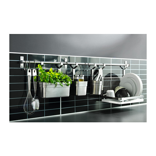wall mounted drying rack for the dishes homesfeed. Black Bedroom Furniture Sets. Home Design Ideas