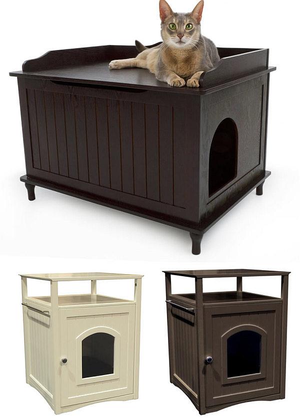 An Easy DIY: Cat Litter Box Ideas - HomesFeed