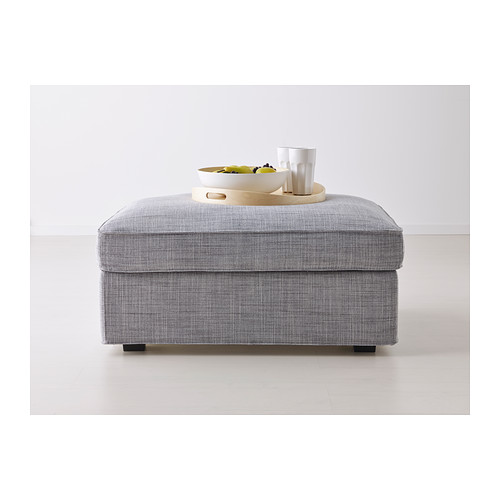 kivik-footstool-with-storage-gray_features-large-practical-storage-.  Ottomans ... - Multi Function Storage Ottoman From IKEA HomesFeed