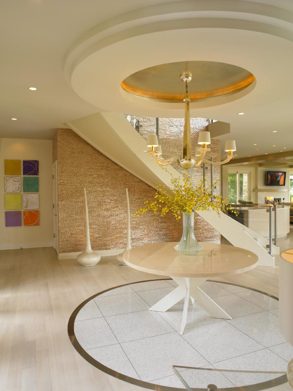Best foyer design the sensation of great waiting time for Foyer ceiling design