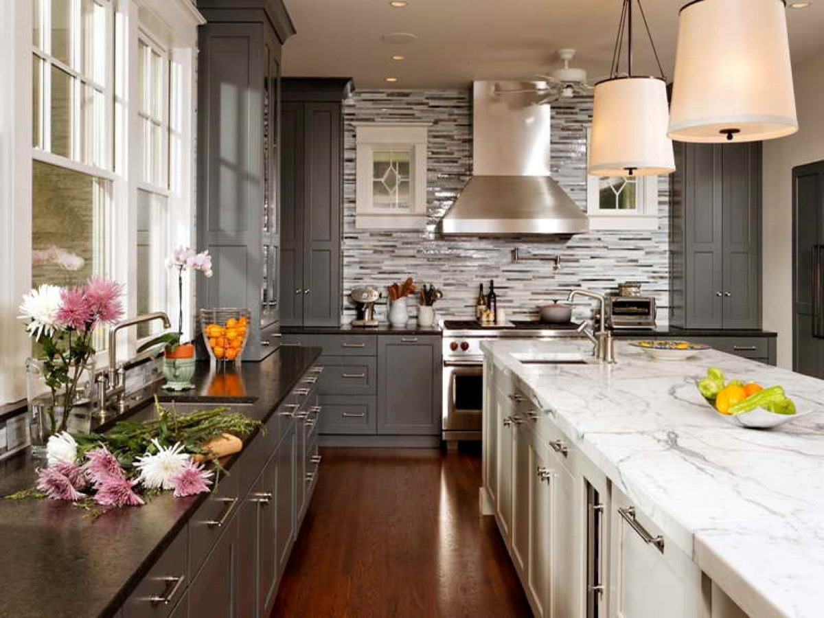 Kitchen Ideas With Grey Counter on kitchen with grey granite, kitchen with grey ceiling, kitchen with grey accessories, kitchen with grey backsplash, kitchen with grey marble, kitchen with grey tile, kitchen with grey walls, kitchen with grey flooring, kitchen with grey paint,