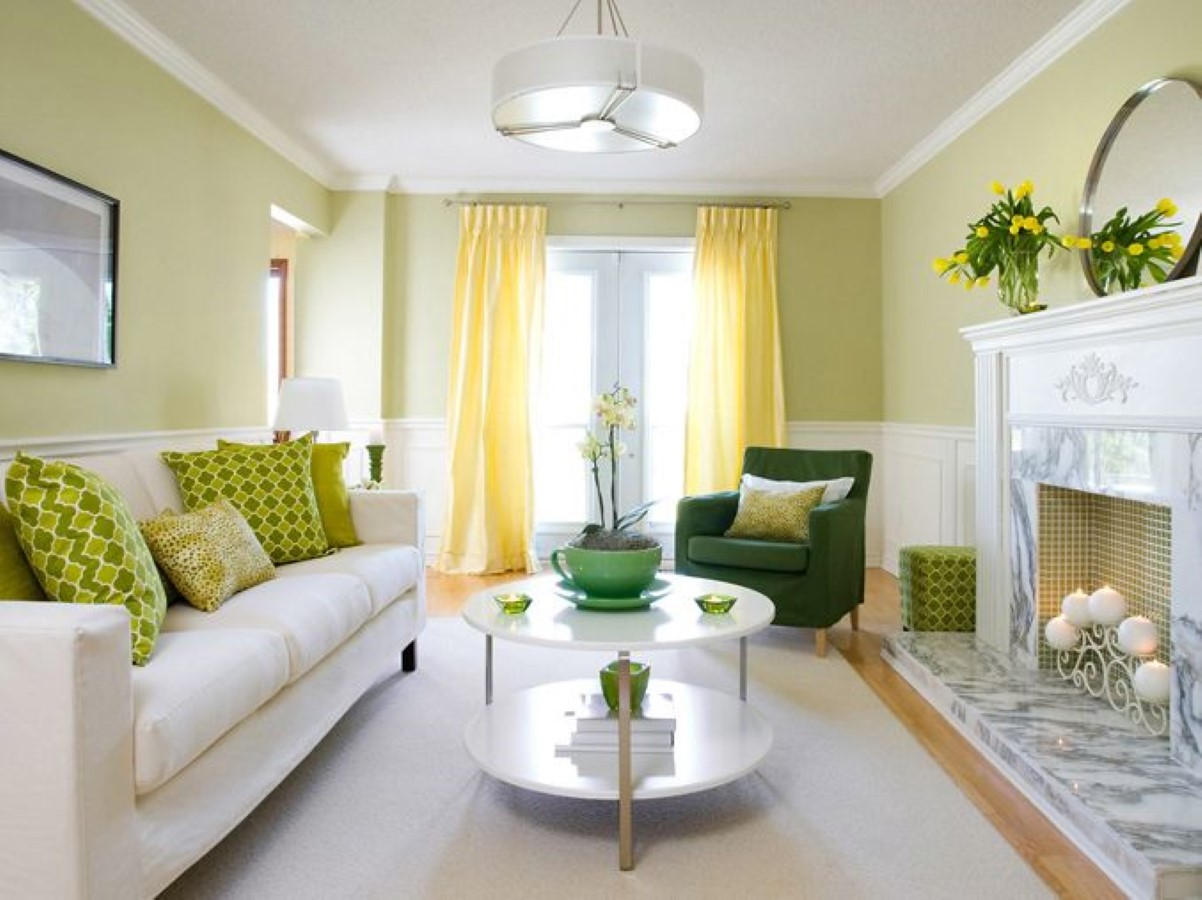 How to Add Green Accent in the Living Room – Some Tips | HomesFeed