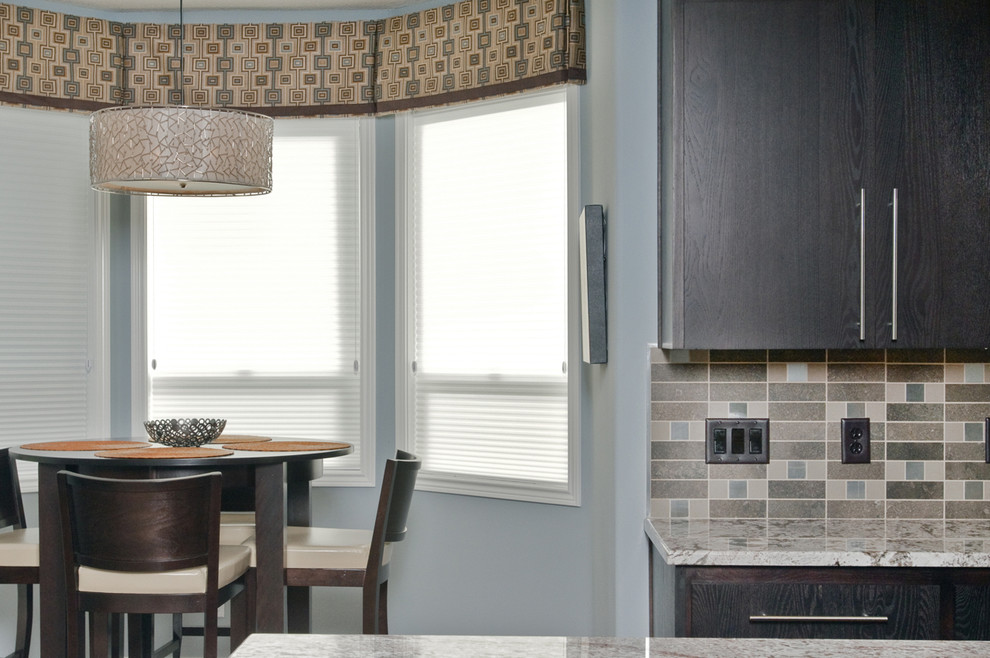Contemporary window valances updating your interior homesfeed - Modern valances for kitchen ...