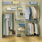 martha stewart closet organizer made from white metal wire