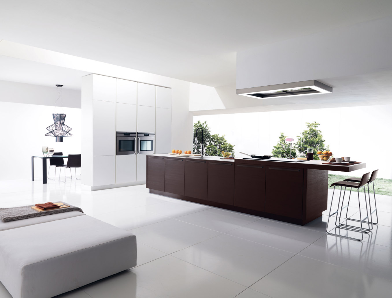 Italian kitchen the design that helps your to feel like for Modern italian design