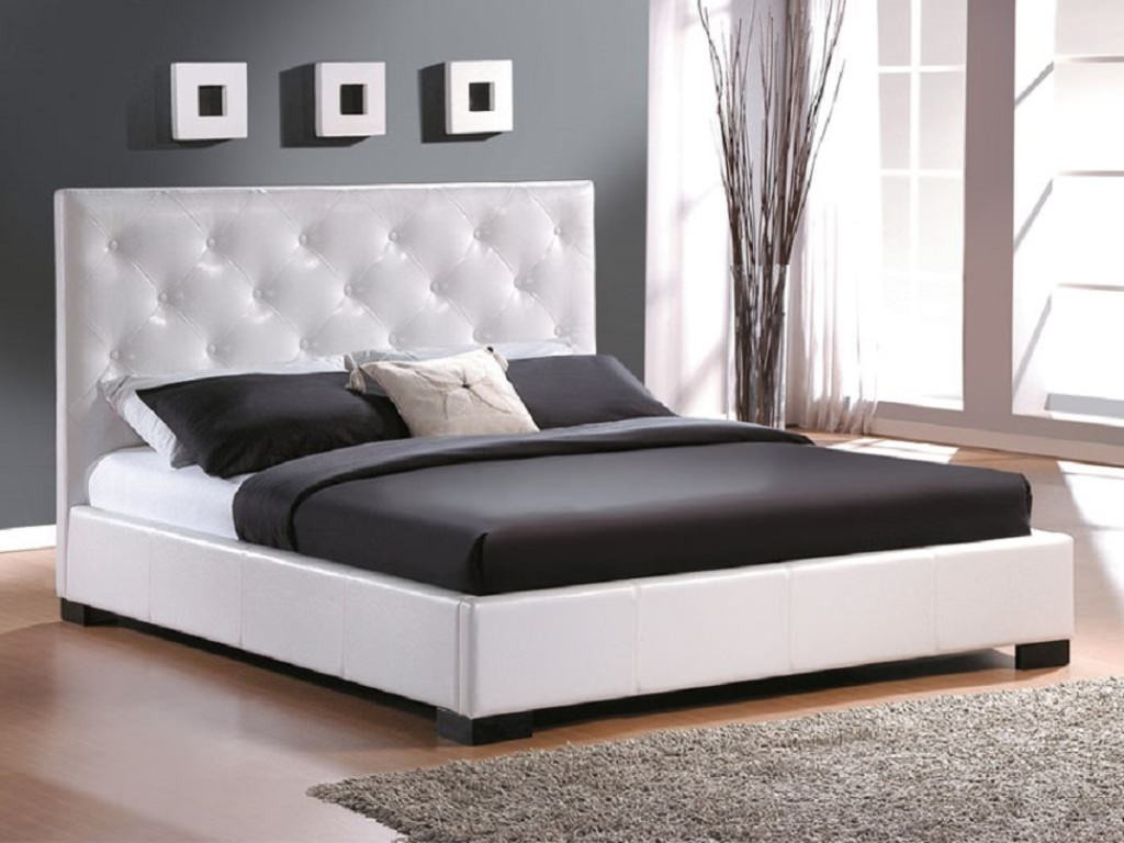 Modern king size bed frames providing a spacious room for Best bed designs images