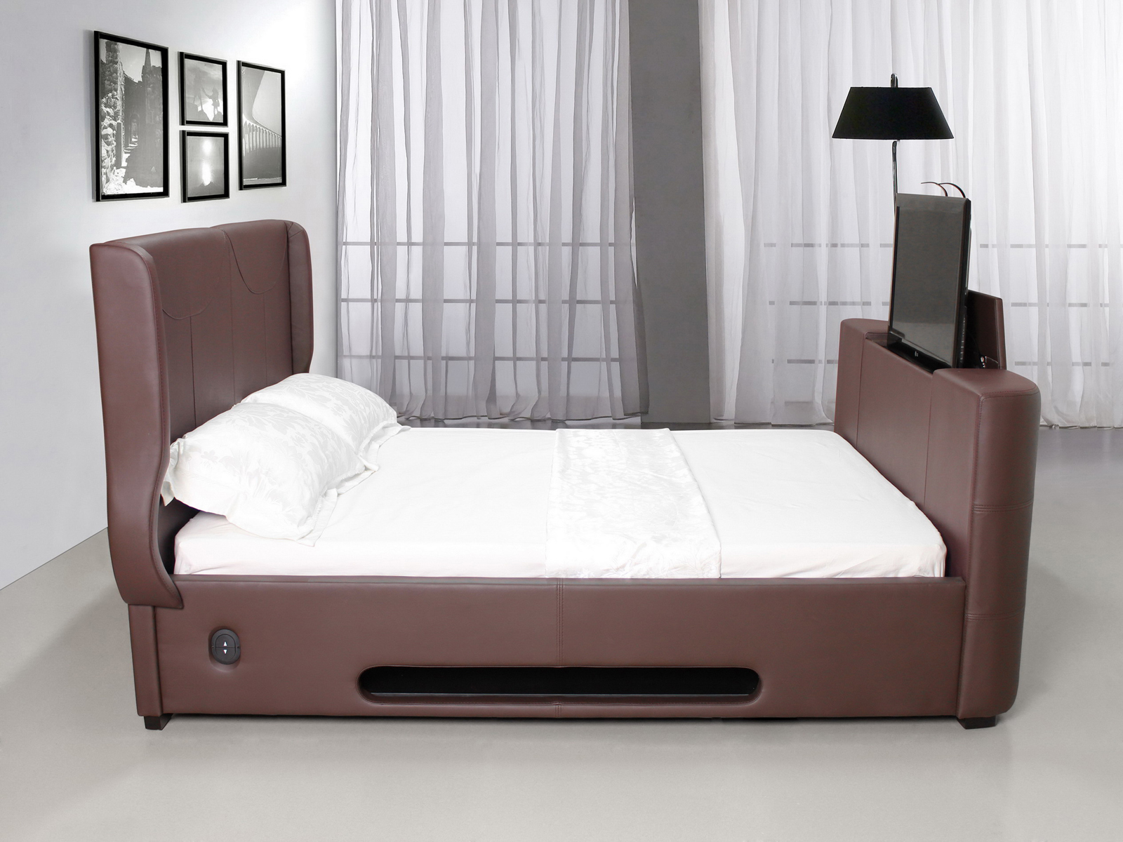 Modern king size bed frames providing a spacious room for for King size bed frame
