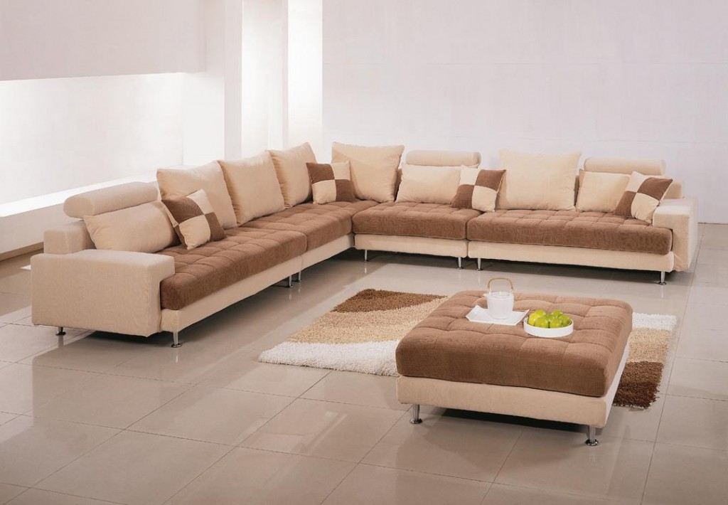 unique sectional sofas bringing an exciting decor for everyone homesfeed. Black Bedroom Furniture Sets. Home Design Ideas