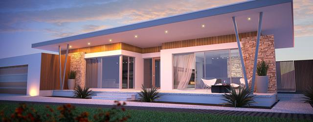 modern single storey house design with luxurious features and great ...