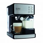 mr coffee espresso machine with milk frother cafe barista for awesome homemade coffee