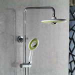 multifunctional bathroom ideas with types of shower heads designed for elegant bathroom ideas