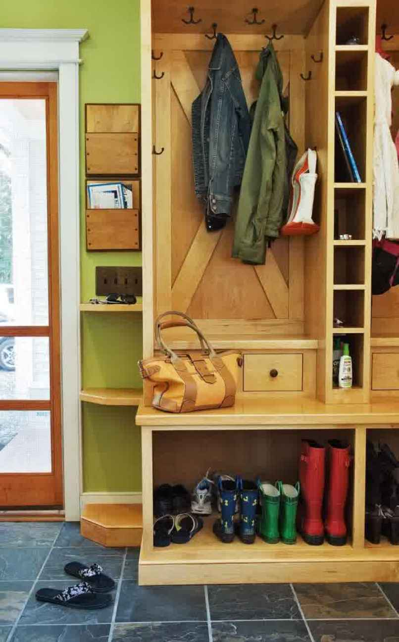 Coat rack ideas and some designs that you have to know for Cost to build a mudroom