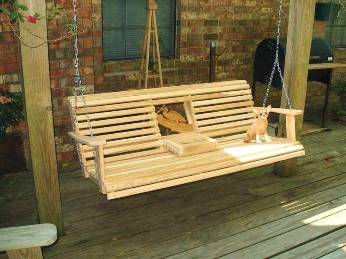 Porch Swing Set Unique Furniture To Feel Hovering