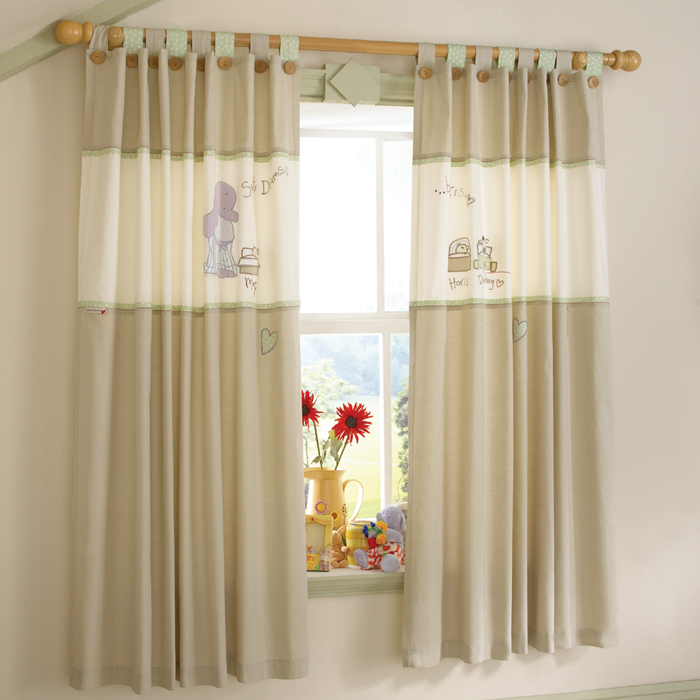 Pretty Blackout Curtains Nursery Attractive Pattern And Cute Dools Ang Vase