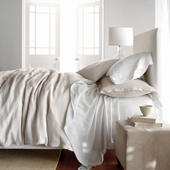Restoration Hardware Linen Sheets Offering an Appealing and a Comfy ...