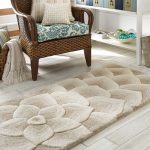 rose-tufted-rug-with-soft-and-versatile-color-add-a-glamorous-and-luxurious-addition-for-rooms-and-looks-nice-on-the-white-wooden-floor