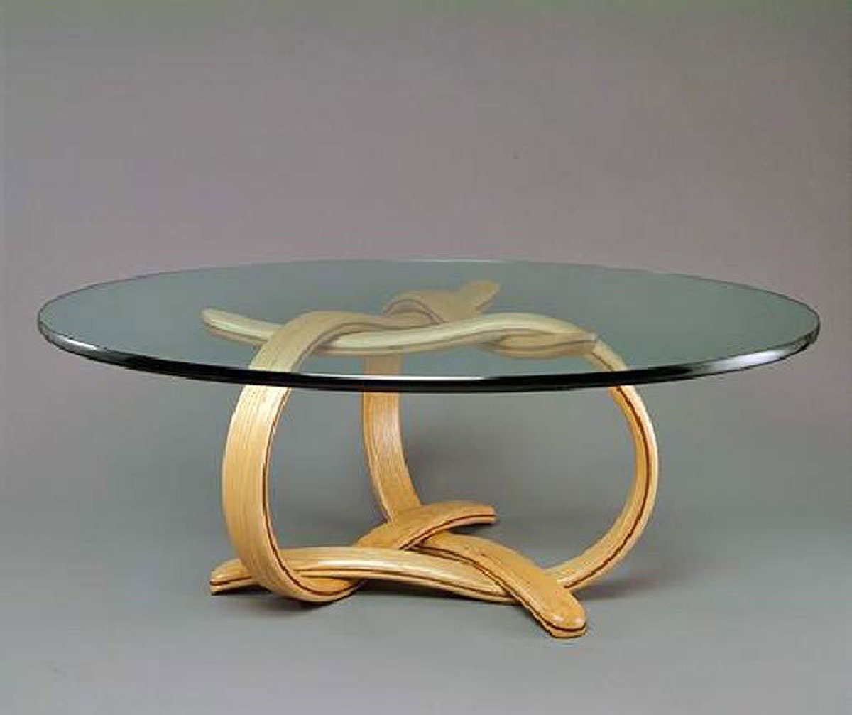 Small glass coffee tables create accessible home ideas for Round glass coffee table top