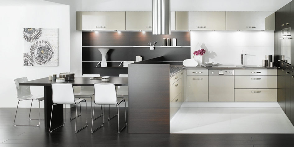 Black And White Kitchen Decor To Feed Exclusive And Modern Passion - Black and grey kitchen decor