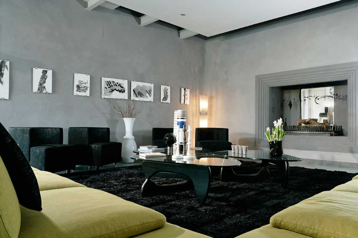 Stunning Grau Living Room Design