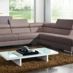 stunning light white walmart coffee table on brown furry rug with purple contemporary sofa design in interior with open concept