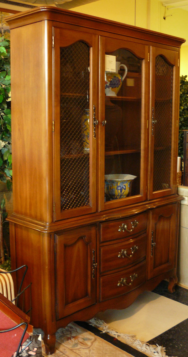 Tall China Cabinet Solving Storage Issues | HomesFeed