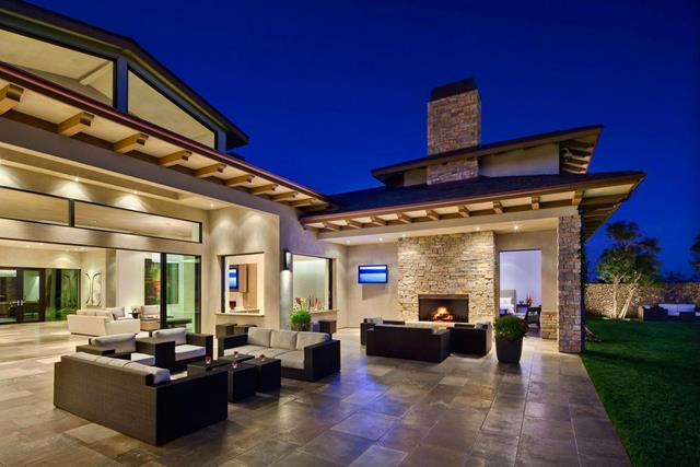 single story house plans with outdoor living space story