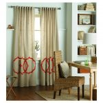 the-Fretwork-border-curtain-panel-from-threshold-with-various-colors-and-features-washable-also-embroidered-with-woven-weave-type-and-full-cotton-also-offers-shear-coverage