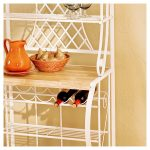 the-Southern-Enterprises-Trellis-Bakers-Rack-in-white-color-with-five-shelves-and-space-for-wine-bottles-and-curved-details-and-metal-lattice-work(2)
