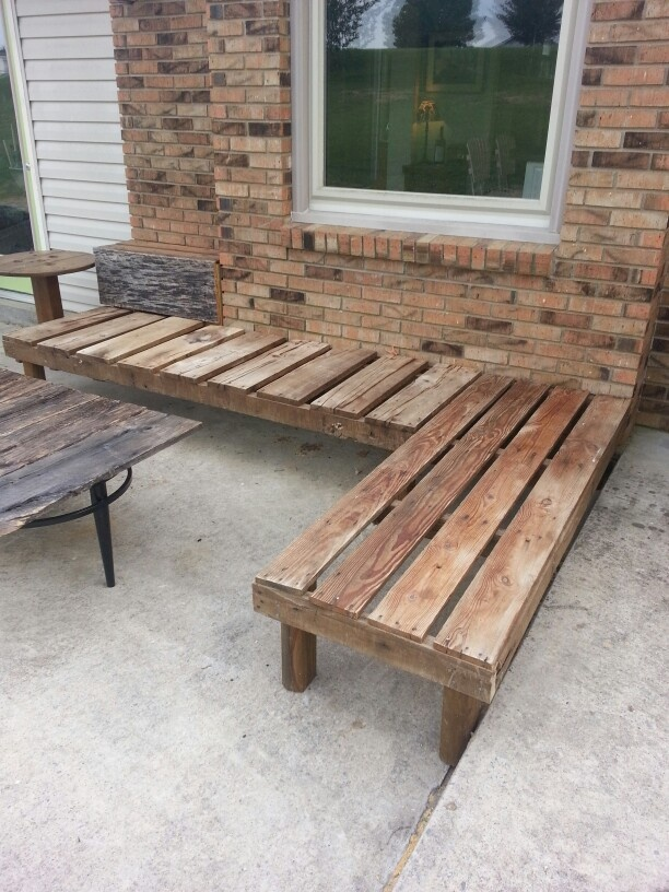 Photo Garden Bench From Pallets Images 25 Unique DIY