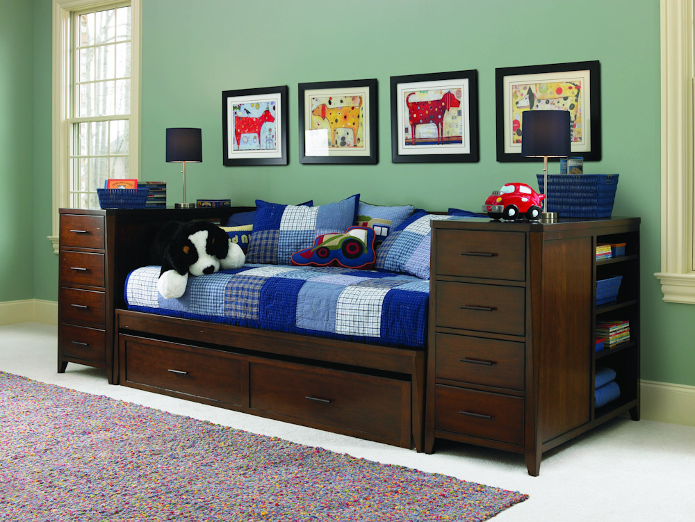 Daybeds With Storage That Provide Both Functional And
