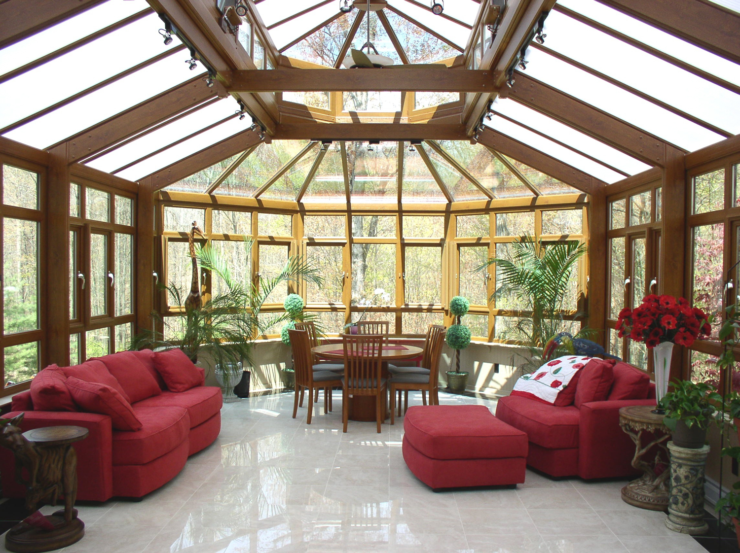 Best sunroom idea runs best detail for the next spring for Greenhouse sunroom addition