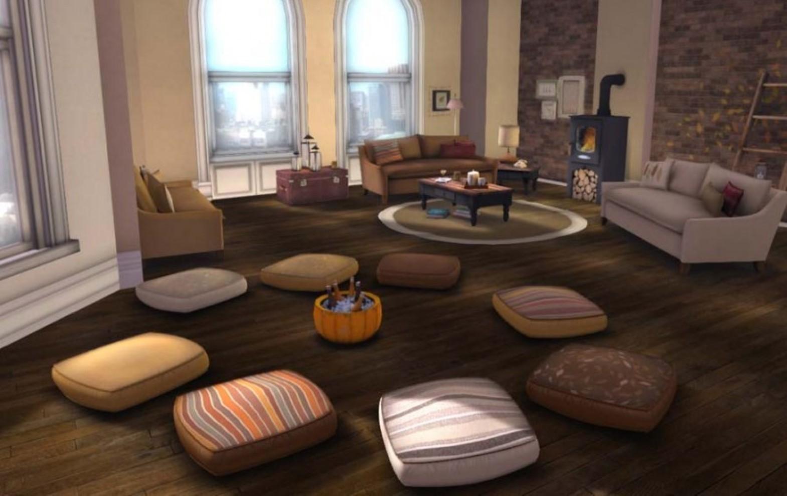Bedroom Floor Cushions